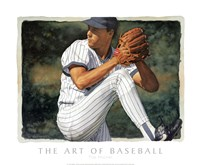 "The Art of Baseball - The Pitcher by Glen Green - 24"" x 20"""