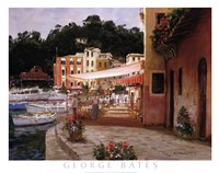 Morning Stroll - Portofino Fine Art Print