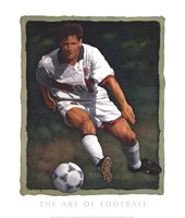 "The Art of Football - The Shot by Glen Green - 20"" x 24"""