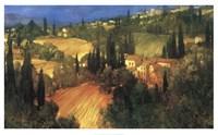 Hillside - Tuscany Fine Art Print