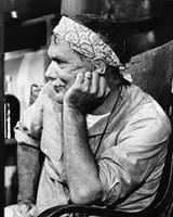 "Sam Peckinpah by Gerard Paul Deshayes - 16"" x 20"""