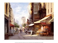 "Marche Parisien by George Bates - 15"" x 12"""