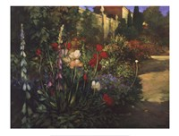 Walled Garden Fine Art Print