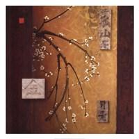 Oriental Blossoms II Fine Art Print