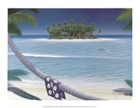 """17"""" x 13"""" Island Pictures"""