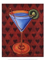 Martini Royale - Hearts Fine Art Print