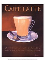 "Urban Caffe Latte by Paul Kenton - 12"" x 16"""