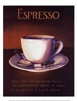 Urban Espresso Fine Art Print