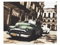 "Cuban Cars II by C.J. Groth - 16"" x 12"""