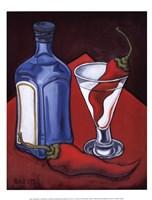 Cajun Martini Framed Print