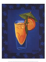 Tropical Cocktail III Fine Art Print