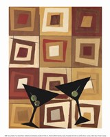 Groovy Martini II Fine Art Print