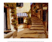 Au coeur du village Fine Art Print