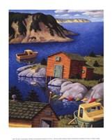 The Inlet Fine Art Print