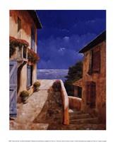 Villa by the Sea Fine Art Print