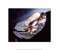 "Hot Keys by Steven Johnson - 14"" x 12"""