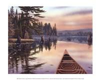 Northern Sunrise Framed Print