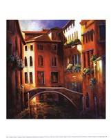 Sunset in Venice Fine Art Print