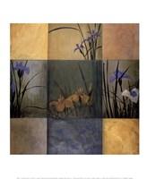 """Iris Nine Patch by Don Li-Leger - 10"""" x 12"""""""