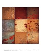 "Poppy Nine Patch by Don Li-Leger - 10"" x 12"""