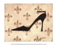 """Poussoir Noir by Trish Biddle - 12"""" x 10"""", FulcrumGallery.com brand"""