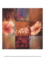 "Tropical Nine Patch II by Don Li-Leger - 10"" x 12"""