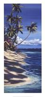 Tropical Retreat II Framed Print