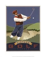 Vintage Golf - Bunker Fine Art Print