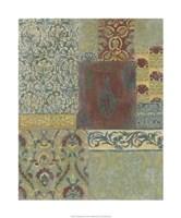 Porcelain Mosaic II Framed Print