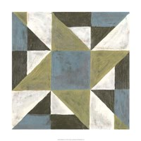 """Patchwork Tile I by Vanna Lam - 24"""" x 24"""""""