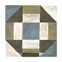 """Patchwork Tile II by Vanna Lam - 24"""" x 24"""""""