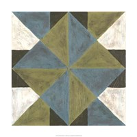 "Patchwork Tile IV by Vanna Lam - 24"" x 24"""