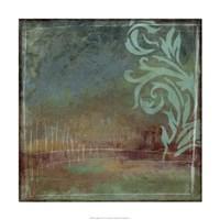 Lush Filigree I Framed Print