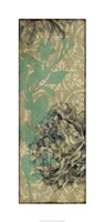 """Tandem Blooms III by Jennifer Goldberger - 17"""" x 36"""""""