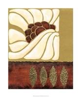"""Garnet Moderna I by Nancy Slocum - 20"""" x 24"""""""