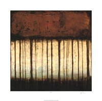 Autumnal Abstract III Framed Print