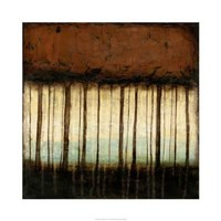 Autumnal Abstract IV Framed Print