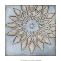 """Silver Filigree I by Megan Meagher - 12"""" x 12"""""""