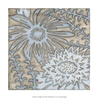 """Silver Filigree III by Megan Meagher - 12"""" x 12"""""""