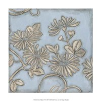"""Silver Filigree IV by Megan Meagher - 12"""" x 12"""""""