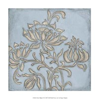 "Silver Filigree VI by Megan Meagher - 12"" x 12"""