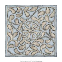 """Silver Filigree VII by Megan Meagher - 12"""" x 12"""""""