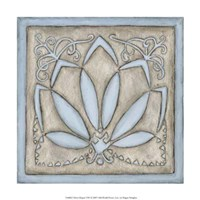 """Silver Filigree VIII by Megan Meagher - 12"""" x 12"""""""