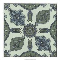 "Mediterranean Tile I by Gerard Paul Deshayes - 18"" x 18"""