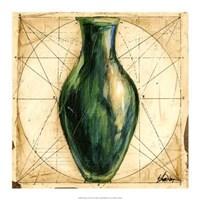 "Modern Artifacts II by Ethan Harper - 17"" x 17"""