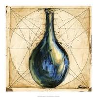 "Modern Artifacts III by Ethan Harper - 17"" x 17"""