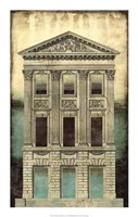 """Architectural Illusion I by Gerard Paul Deshayes - 14"""" x 22"""""""