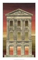 """Architectural Illusion III by Gerard Paul Deshayes - 14"""" x 22"""""""