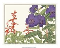 Japanese Flower Garden VI Giclee