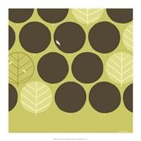 "Forest Motif II by June Erica Vess - 17"" x 17"""